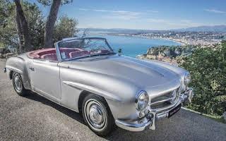 Mercedes-Benz 190 SL Rent Provence-Alpes-Côte d'Azur