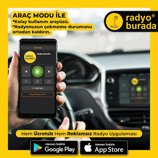 Radyo Burada -Radyolar u0130ndir -Canlu0131 Dinle u0130nternet 1.0.6 screenshots 1