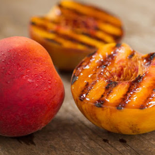 Caramelized Sweet Potatoes and Peaches