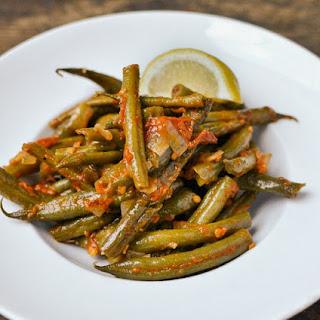 Greek-Style Braised Green Beans.