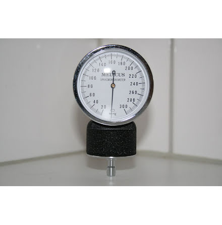 Manometer för Blodtrycksmätning mmHg