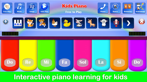 Kids Piano Free  screenshots 1