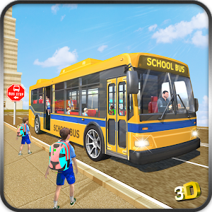 Schoolbus Coach Simulator 3D for PC and MAC