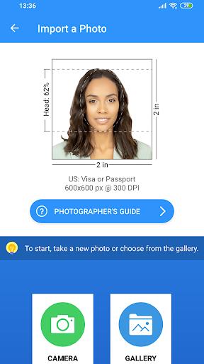 Passport Size Photo Maker - ID Photo Application Apk 2