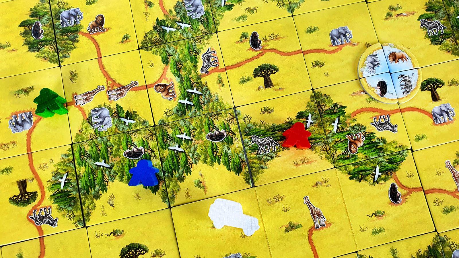carcassonne safari recenzja