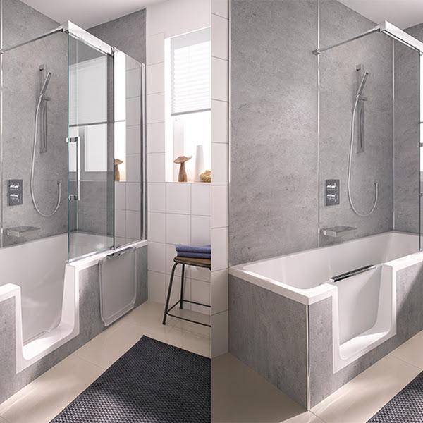 Bequem Duschen in der Badewanne