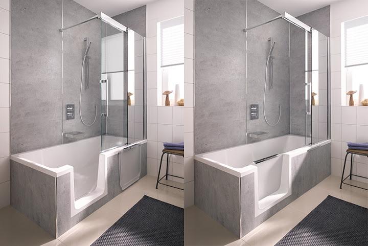 HSK - Die Badexperten | Newsbereich | Bequem Duschen in der Badewanne