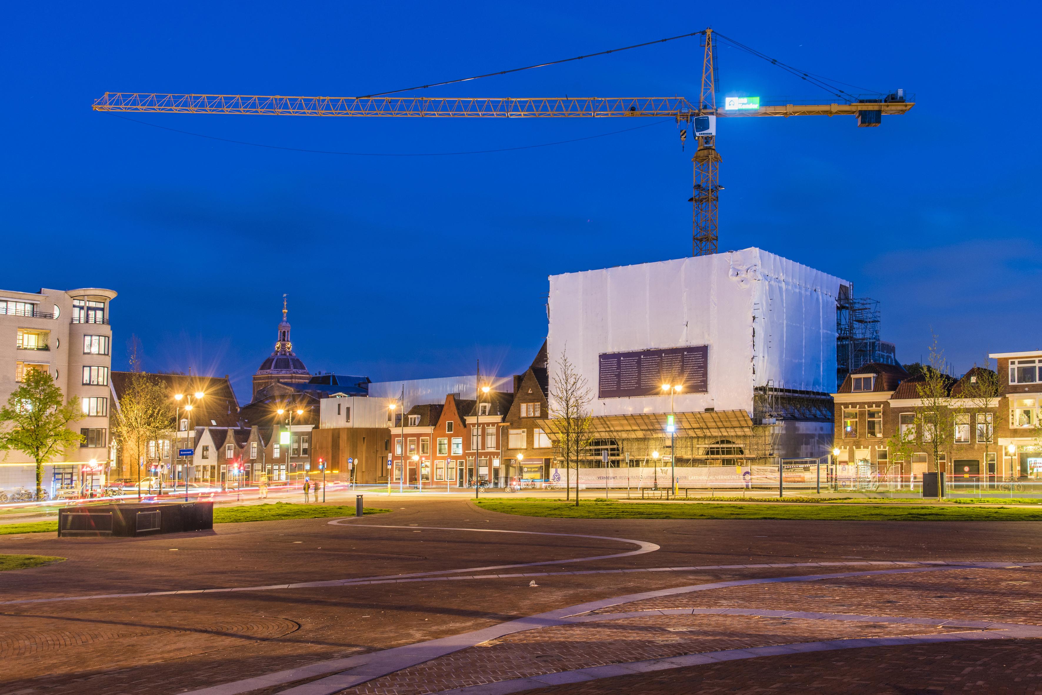 De nieuwbouw van Museum De Lakenhal