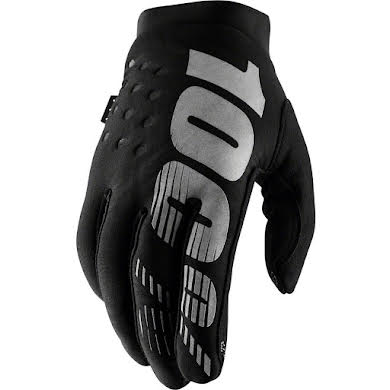 100% Brisker Youth Full Finger Gloves