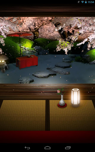 Zen Garden -Spring- LWallpaper screenshot