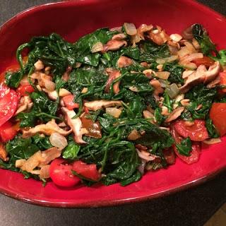 Mar 19 Spinach Sauté Recipe
