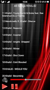 All Songs KHALID - náhled