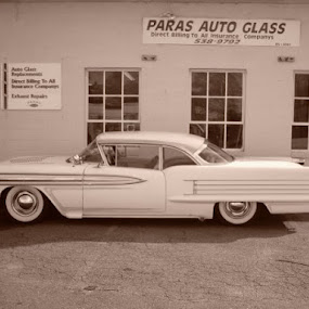 1958 oldsmobile ninety eight. by Phil Ballachino - Novices Only Objects & Still Life