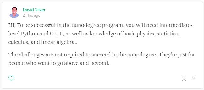 Self Driving Car Nano Degree Prerequisites