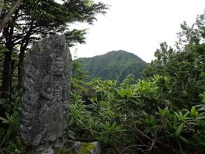 石像と三ノ沢岳