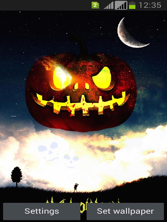 halloween live wallpapers android apps on google play