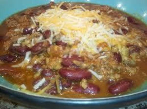 Lisa's Homemade Chili Recipe