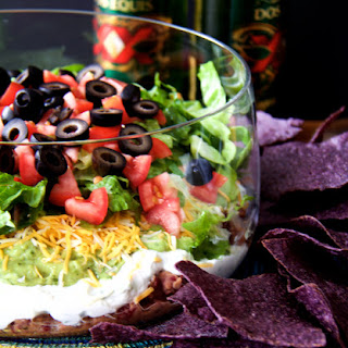 Lighter Fresher Seven-Layer Dip