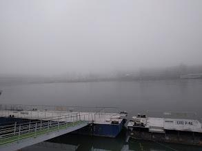 Photo: Foggy Danube.