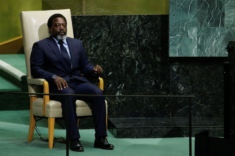 Joseph Kabila, President of the Democratic Republic of the Congo.