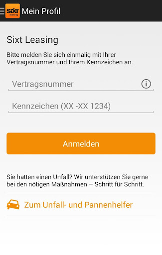 Sixt Leasing - screenshot