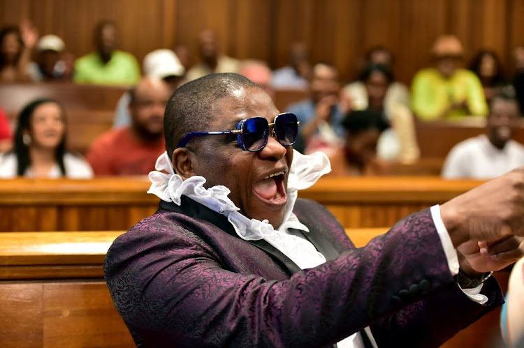 Controversial Nigerian pastor Timothy Omotoso appears at the Port Elizabeth High Court on October 10 2018.