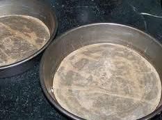 Grease and flour or line with parchment paper,(spray paper) two 9-inch cake pans. Preheat...