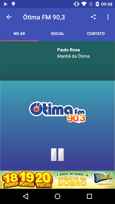 Ótima FM - screenshot