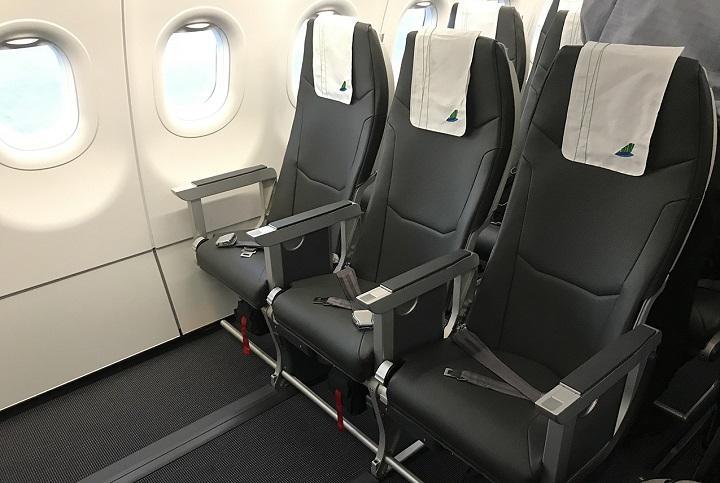 Khoang ghế ngồi của Bamboo Plus, vé máy bay Bamboo giá rẻ đáng chọn dùng