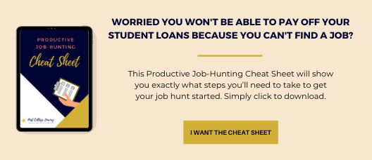 Dave Ramsey - Productive Job Hunting Cheatsheet optin image