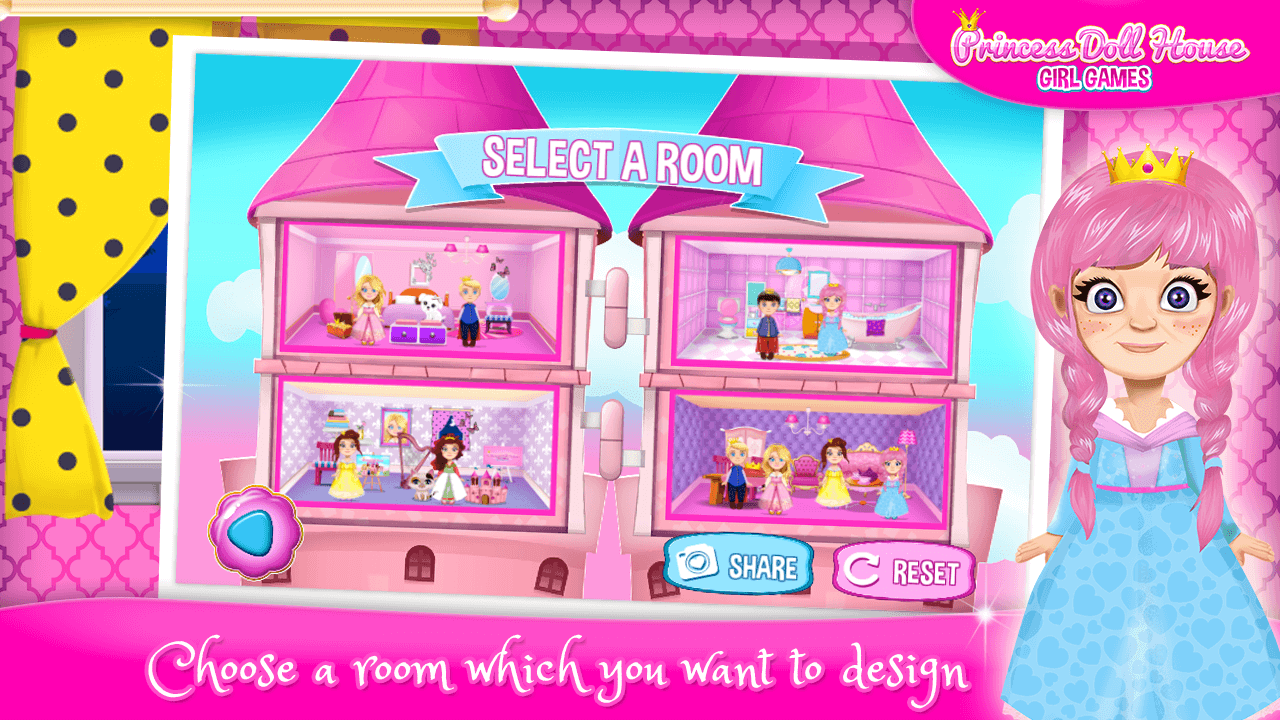 Princess Doll House Girl Games Android Apps On Google Play