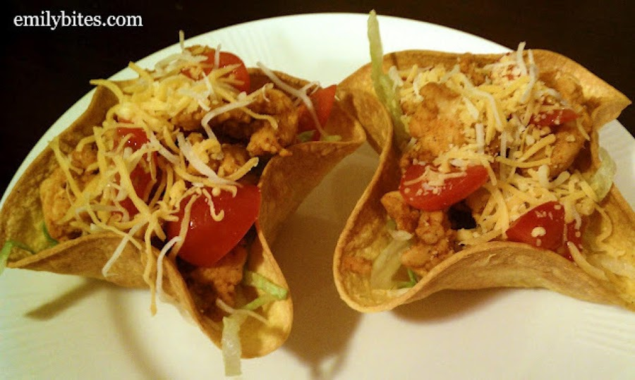 Mini taco bowls recipe 2 just a pinch recipes for Jj fish menu