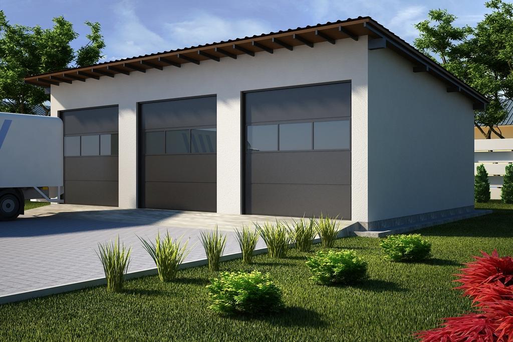 Projekt Garażu G35 Tjp 578 13823m²