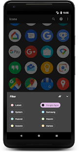Oil Pixel - Icon Pack Screenshot