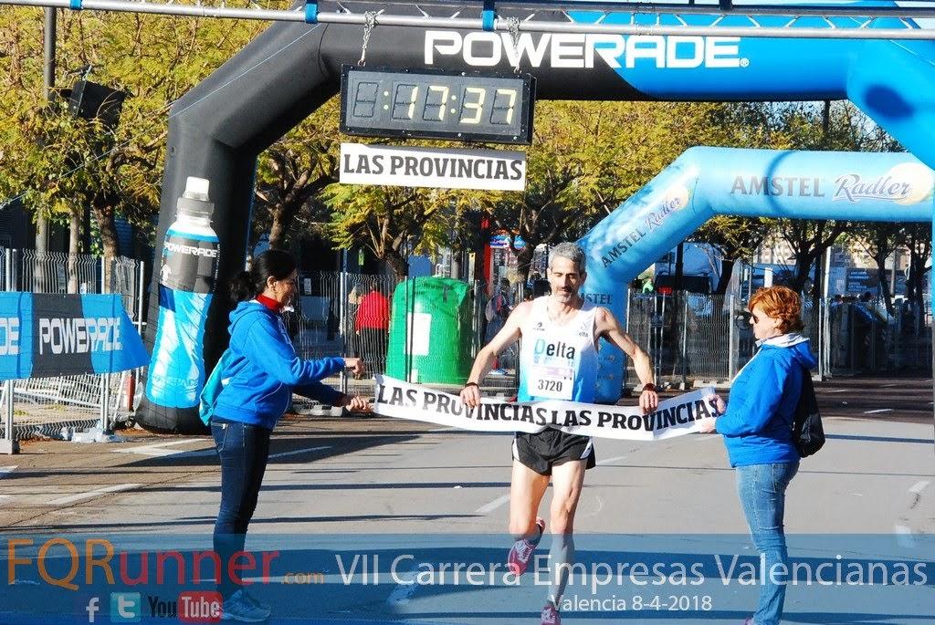 JUANJO CANO VAQUERO ganador de la 5K