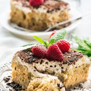 Tiramisu Tres Leches Cake.