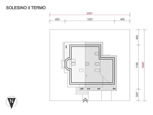 Solesino II Termo - Sytuacja