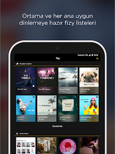 fizy – Müzik & Video Screenshot