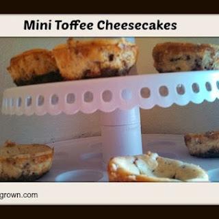 Mini Toffee Cheesecakes Recipe