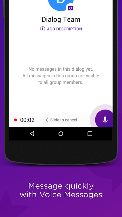 Dialog Messenger- screenshot