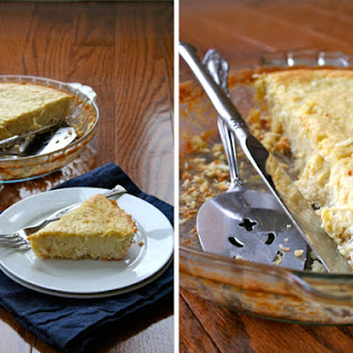 Coconut Pie [Low Carb] and My 5-Steps for Shoppers