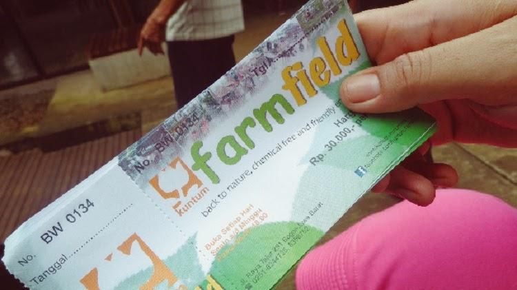 tiket masuk kuntum farm field bogor