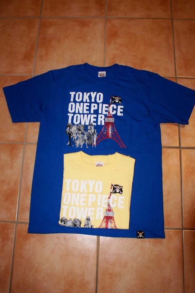 One Piece Tokyo Tower Tshirt