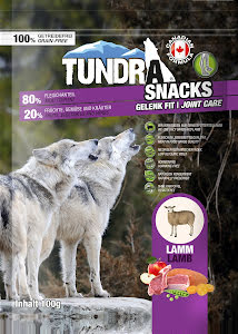 Tundra snacks Lamm 100 gr 9 st/display