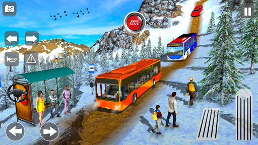 Offroad Coach Tourist Bus Simulator 2020 apktram screenshots 8