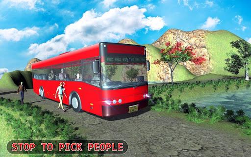 Modern Offroad Uphill Bus Simulator 1.4 screenshots 17