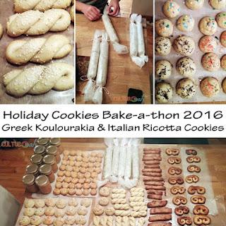 Koulourakia | Greek Sesame Twist Cookies