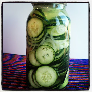 Pickled Cucumber Slices Recipes.