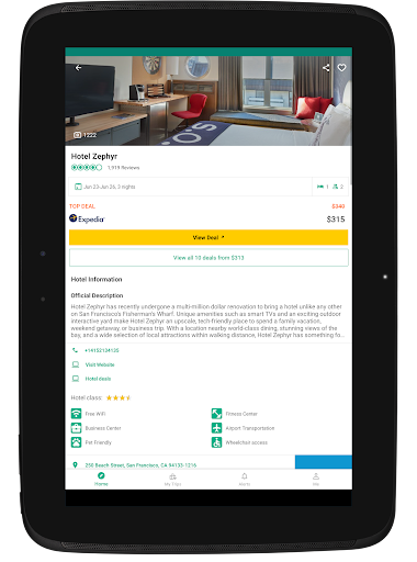 TripAdvisor Hotels Flights Restaurants Attractions app (apk) free download for Android/PC/Windows screenshot