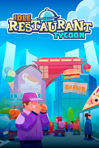 Idle Food Restaurant Tycoon - Jeu du chef magnat  captures d'écran 1